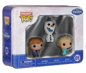 Frozen POP! Pocket Anna, Olaf e Elsa