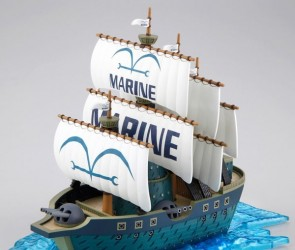 One Piece Grand Ship Collection Model Kit Navio da Marinha