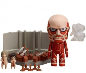 Attack on Titan Nendoroid Colossal Titan e Playset