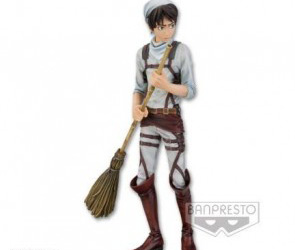 Attack on Titan DXF Series Cleaning Eren Yeager